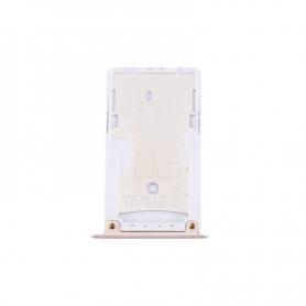 Bandeja Tarjeta De Memoria Micro SD Y SIM Dorado Para Xiaomi Redmi 4X