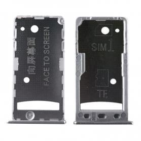 Bandeja Dual SIM/SD Plateada Para Xiaomi Redmi 5A