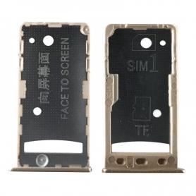 Bandeja Dual SIM/SD Dorada Para Xiaomi Redmi 5A