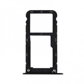 Bandeja Dual SIM/SD Negra Para Xiaomi Redmi 5 Plus