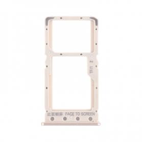 Bandeja Dual SIM/Micro SD Dorada Para Xiaomi Redmi 6A