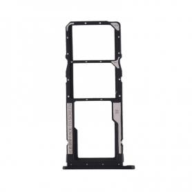 Bandeja Dual SIM+SD Negra Para Xiaomi Redmi 7A