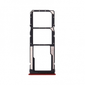 Bandeja Dual SIM+SD Roja Para Xiaomi Redmi 8A