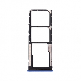 Bandeja Dual SIM+SD Azul Para Xiaomi Redmi 8A