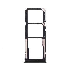 Bandeja Dual SIM+SD Negra Para Xiaomi Redmi 9A