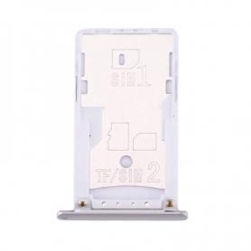 Bandeja SIM Plateado Para Xiaomi Redmi Note 3 Pro