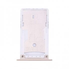 Bandeja Dual SIM/SD Dorada Para Xiaomi Redmi Note 4X
