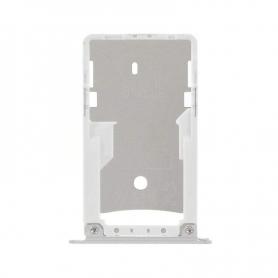 Bandeja Dual SIM/SD Blanca Para Xiaomi Redmi Note 4X