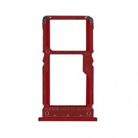 Bandeja Dual SIM/SD Roja Para Xiaomi Redmi Note 6 Pro