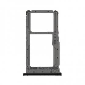 Bandeja Dual SIM/SD Negra Para Xiaomi Redmi Note 6 Pro