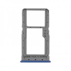 Bandeja Dual SIM/SD Azul Para Xiaomi Redmi Note 6 Pro