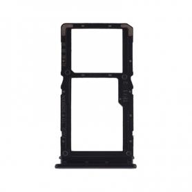 Bandeja Dual SIM+Micro SD Negra Para Xiaomi Redmi Note 7