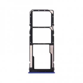 Bandeja Dual SIM Y SD Azul Para Xiaomi Redmi Note 8