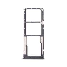 Bandeja Dual SIM Y SD Negra Para Xiaomi Redmi Note 8T