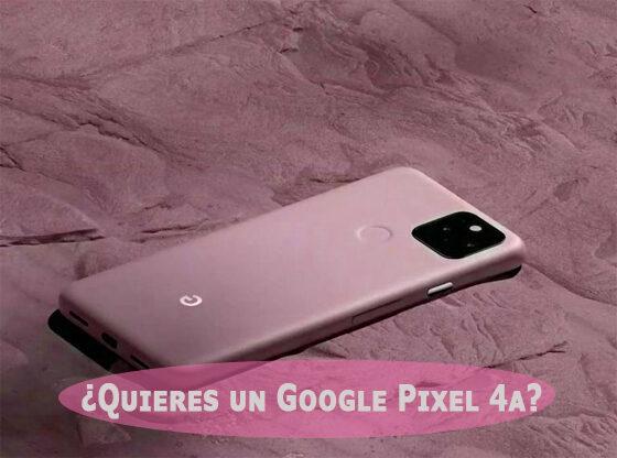 Google-Pixel-4a-precio-y-funciones